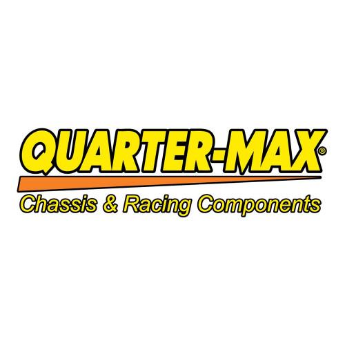 "Quarter-Max Decal, Yellow & Orange, 16"" x 4-1/2"""