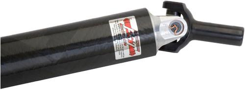 "PST 3.75"" Carbon Fiber Driveshaft, 1350"