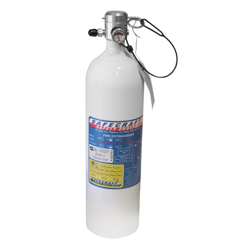 Safecraft LT5J 5 Lb Replacement Bottle, 3M Novec 1230 Fire Protection Fluid & Pull Cable