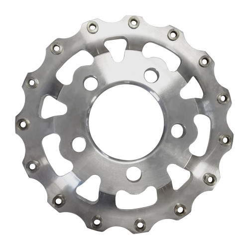 "Weld Racing V-Series Rear Center, 5"" x 4.75"", Polished"