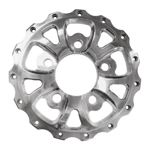 "Weld Racing V-Series Rear Center, 5"" x 5"", Polished"