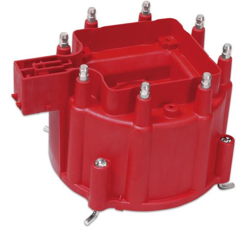 MSD GM HEI Distributor Cap, Red