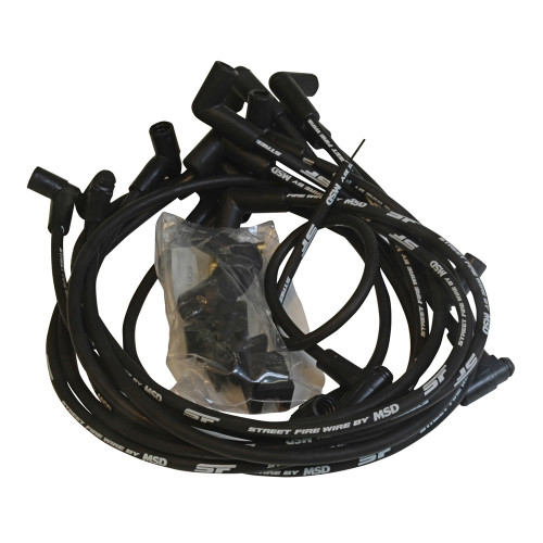 MSD Street-Fire Wire Set, Small Block Chevy 350 HEI