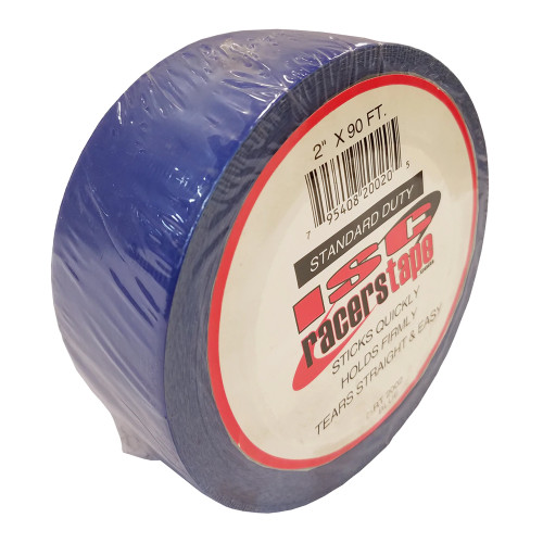"ISC Racers Tape RT2002 Standard Duty Racers Tape, 2"" x 90', Blue"