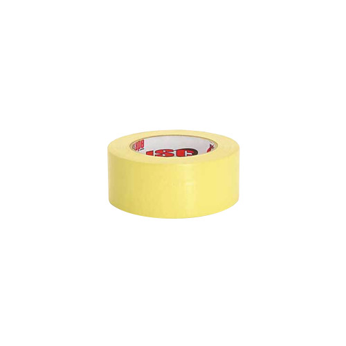 """ISC Racers Tape RT2003 Standard Duty Racers Tape, 2"""" x 90', Yellow"""