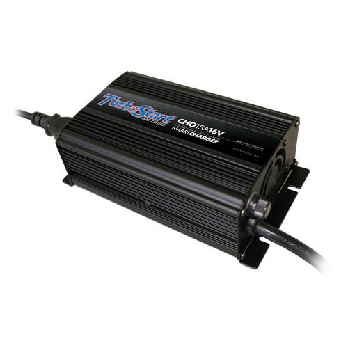 TurboStart CHG15A16V 16 Volt AGM SMART Charger