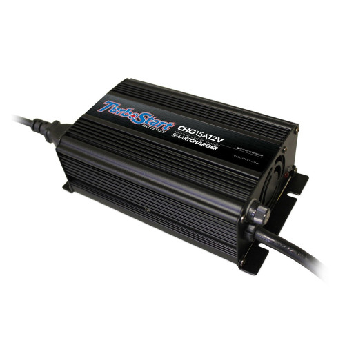 TurboStart CHG15A12V 12 Volt AGM SMART Charger