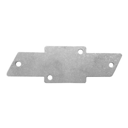 Quarter-Max Chevy Backing Plate, Aluminum