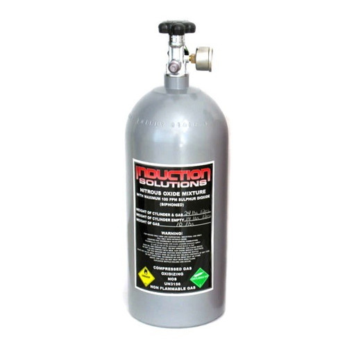 Induction Solutions 19900-G 10 Lb Grey Nitrous Bottle