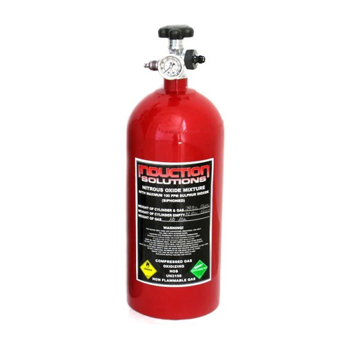 Induction Solutions 19905 15 Lb Red Nitrous Bottle