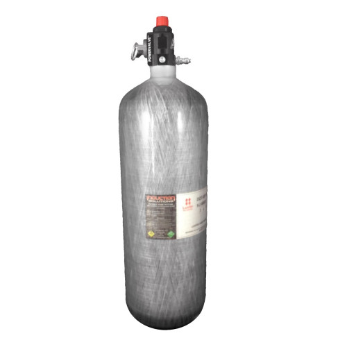Induction Solutions Carbon Fiber Nitrous Bottle