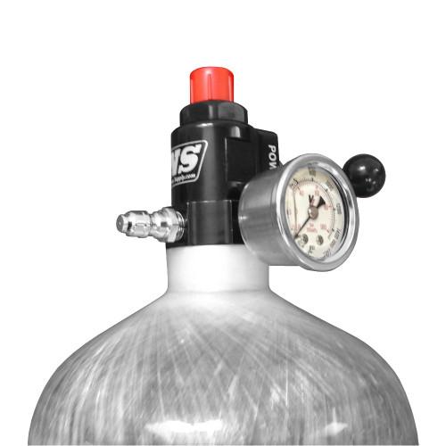 Induction Solutions 19881 Carbon Fiber Nitrous Bottle with POWERVALVE