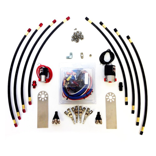 Induction Solutions 19703-M90 Motorcycle Nitrous Plumb Kit