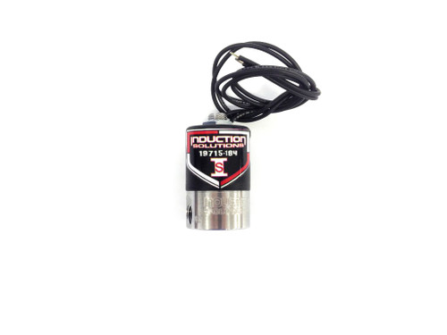 Induction Solutions 19715-184 SuperMax Alcohol Fuel Solenoid (.184)