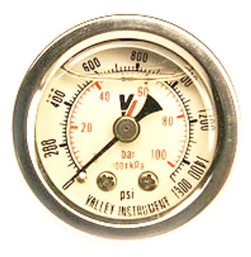 "Induction Solutions 19710 1.5"" Liquid Filled Gauge"