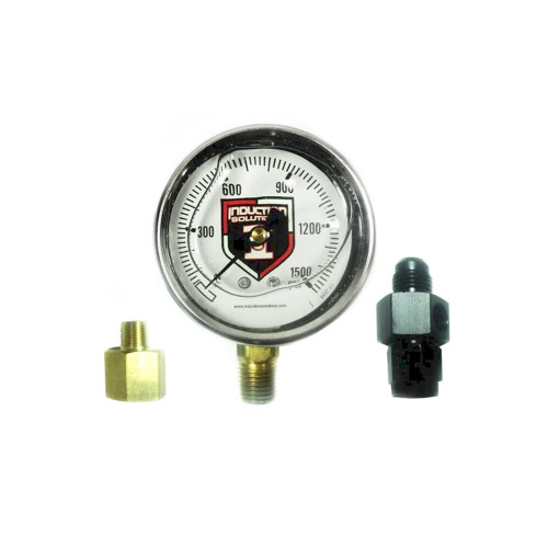 "Induction Solutions 19709 2.5"" Liquid Filled Gauge"
