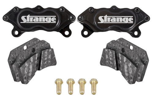 Strange Engineering B5046 Pro Carbon Caliper Kit with Slotted Carbon Brake Pads