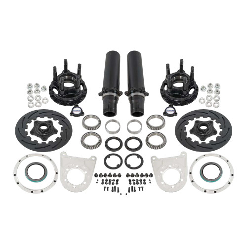 "Strange Engineering F22064WC 40 Spline Floater Kit for 4-3/4"" BC, Includes Pro Carbon Brake Kit"
