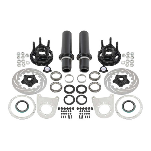 "Strange Engineering F22065 40 Spline Floater Kit for 5"" BC, Includes Stainless Steel Brake Kit"