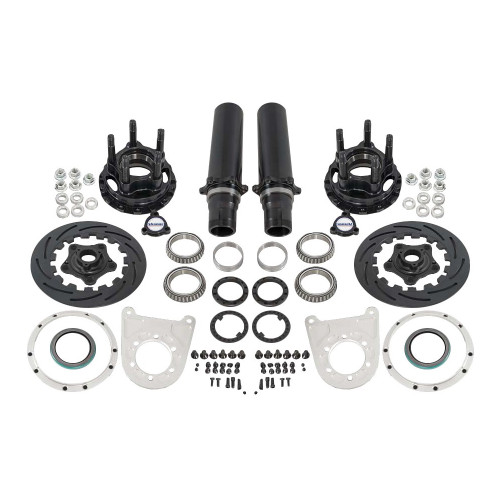 "Strange Engineering F22065WC 40 Spline Floater Kit for 5"" BC, Includes Pro Carbon Brake Kit"