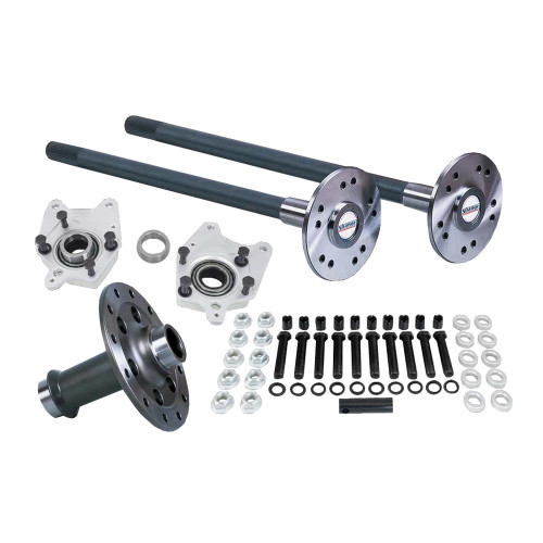 "Strange Engineering P2000FM0558 Pro Race Axle & Spool Package for 2005-2014 Ford 8.8 Rear End, C-Clip Eliminator Kit & 5/8"" Stud Kit"