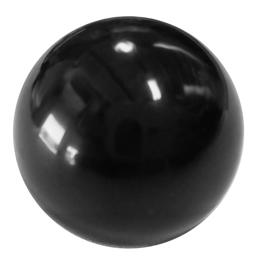 "Quarter-Max 600083 Black Plastic Knob, 3/4"" OD x 10-32 Female Thread"