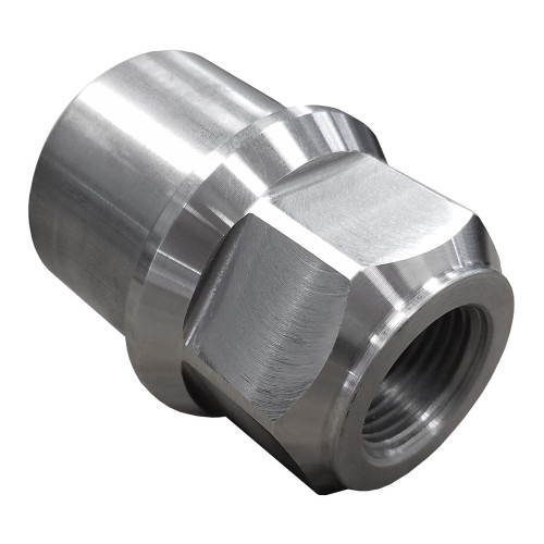 """3/4""""-16 RH x 1-5/8"""" .120"""" Tube Adapter, Hex Style"""