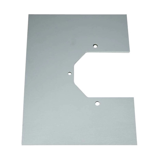 Strange Engineering H1150PB Aluminum Dragster Housing Mounting Plate - Blank