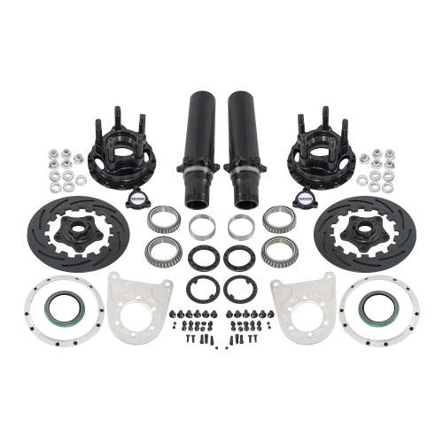 "Strange Engineering F2206WC 40 Spline Floater Kit for 5-1/2"" BC, Includes Pro Carbon Brake Kit"