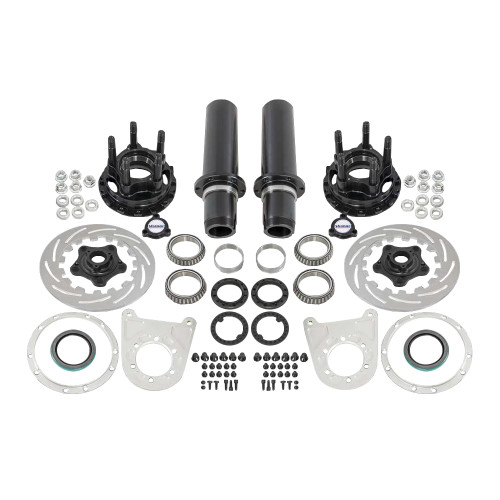 "Strange Engineering F2206 40 Spline Floater Kit for 5-1/2"" BC, Includes Stainless Steel Brake Kit"