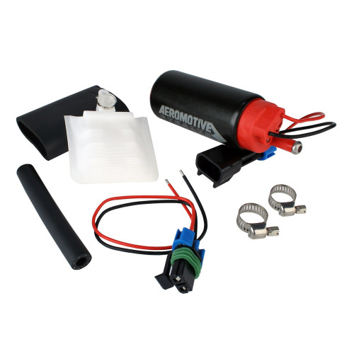 Aeromotive 11542 340 Fuel Pump, Offset Inlet, Inlet Inline with Outlet