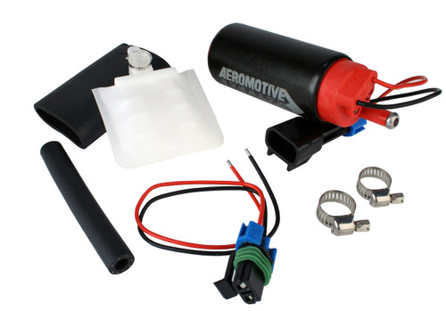 Aeromotive 11541 340 Fuel Pump, Offset Inlet