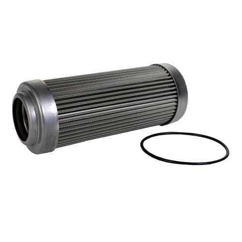 "Aeromotive 12602 Replacement Element, 100-m Stainless Mesh Element, Fits All 2-1/2"" OD Filter Housings"