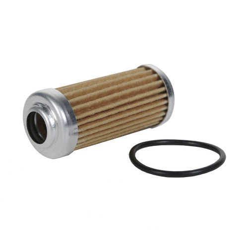 "Aeromotive 12603 Replacement Element, 40-m Fabric Element, Fits All 1-1/4"" OD Filter Housings"