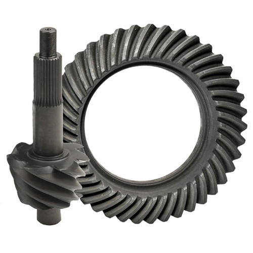 "Nitro Gear F9-457SP-NG Ford 9"", 4.57, 28 Spline Small Pinion, Nitro 9310 Pro Ring & Pinion, Drag Racing Only"