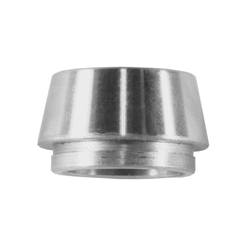 ".500"" ID x .625"" OD x .302"" W Step Bushing, Wheelie Bar, Titanium"