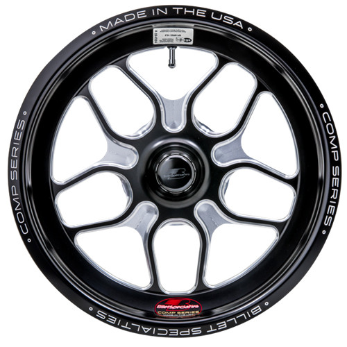 "Billet Specialties Comp 7, 15"" x 3.5"", Anglia/Lamb, 1.75"" BS, Black"