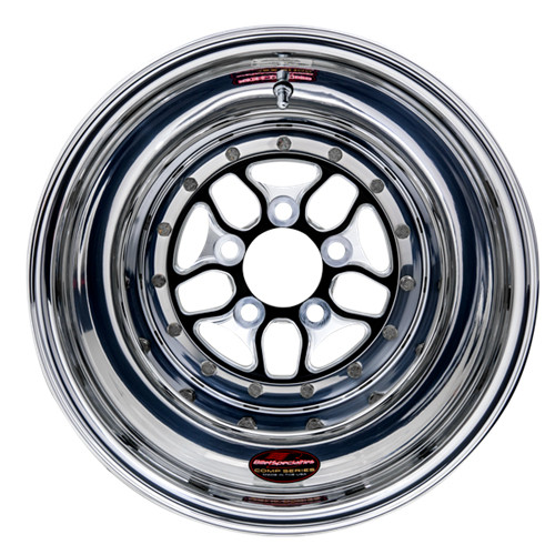 "Billet Specialties BCS075106140 Comp 7, 15"" x 10"", 5"" x 4.75"", 4.00"" BS, Black"