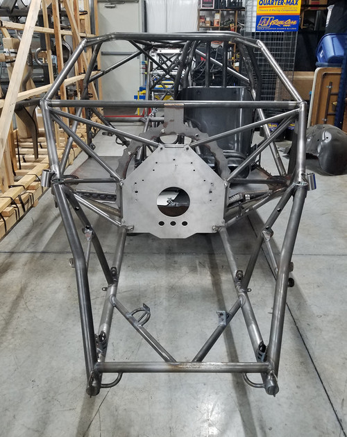 RJ Race Cars 2019 Camaro Car Build, Welded Pro Stock/Top Sportsman Chassis With Fabrication Done, Ready to Mount Body