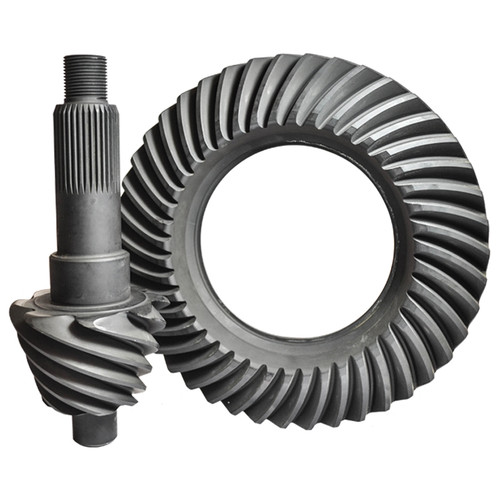 "Nitro Gear F10-457-NG Ford 10"", 4.57, 35 Spline Pinion, Nitro 9310 Pro Ring & Pinion, Drag Racing Only"