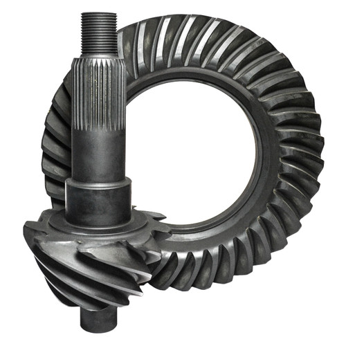"Nitro Gear F9.5-457-NG Ford 9.5"", 4.57, 35 Spline Pinion, Nitro 9310 Pro Ring & Pinion, Drag Racing Only"
