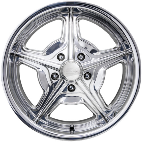 "Billet Specialties AC39008 Speedway, 1 Piece Cast, 18"" x 8"", 5"" x 4.75"", 5.25"" BS, Polished"