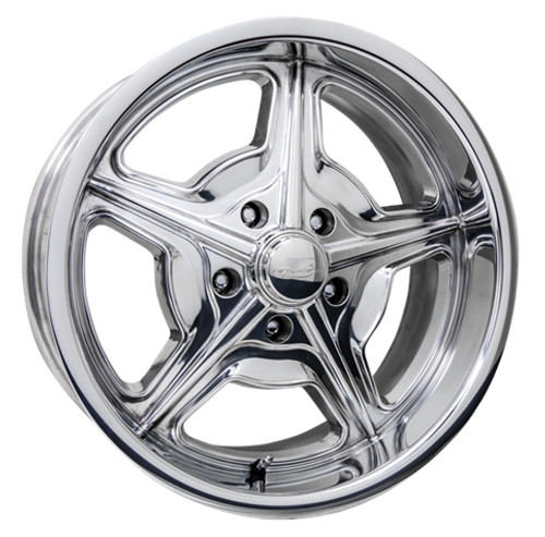 "Billet Specialties AC39024 Speedway, 1 Piece Cast, 20"" x 10"", 5"" x 4.75"", 5.5"" BS, Polished"