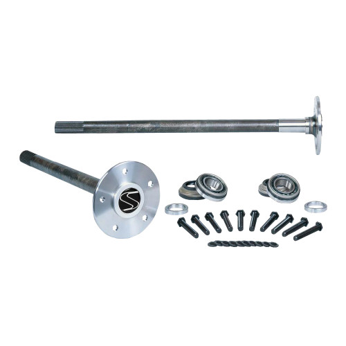 "Strange Engineering P3302 33 Spline Alloy Axle Package with Axle Bearings & 1/2"" Stud Kit"