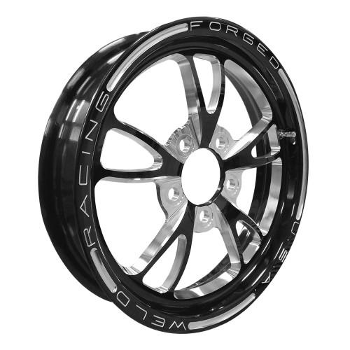 "Weld Racing Full Throttle, 15"" x 3.5"", 5"" x 4.75"", 2.25"" BS, Black"