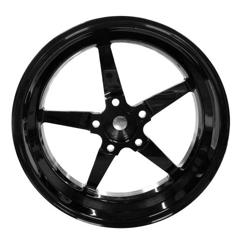 """Weld Racing AlumaStar 2.0, 15"""" x 3.5"""", 5"""" x 4.75"""", 2.25"""" BS, Black"""