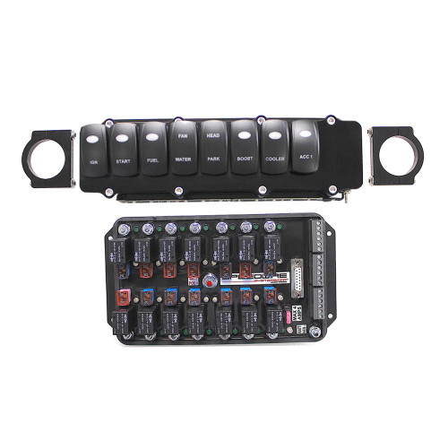 Speedwire Gas Turbo System, 8 Switch Panel, 14 Relay Controller