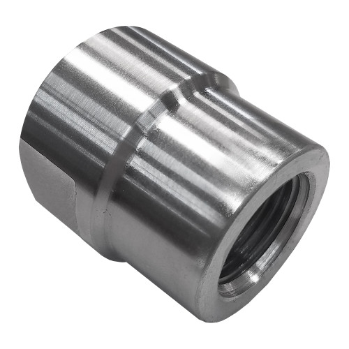 "3/4""-16 RH x 1-1/4"" .065"" Tube Adapter, Short Style, Load Cell"