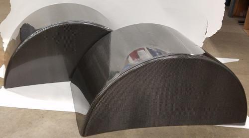 "34"" Carbon Fiber Wheel Tubs - Blem"