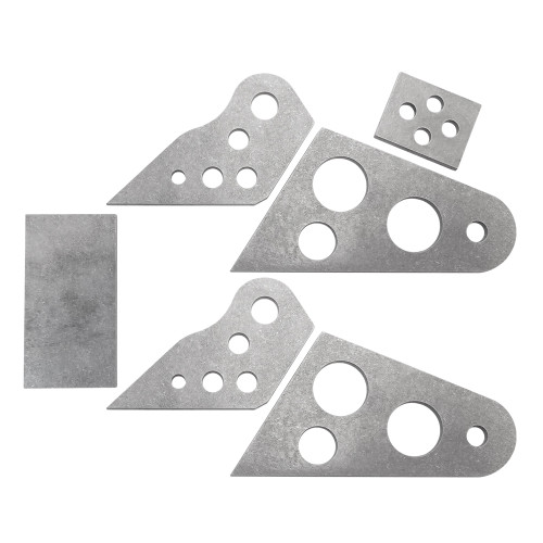 Standard Wheelie Bar Wheel Housing Kit, Titanium
